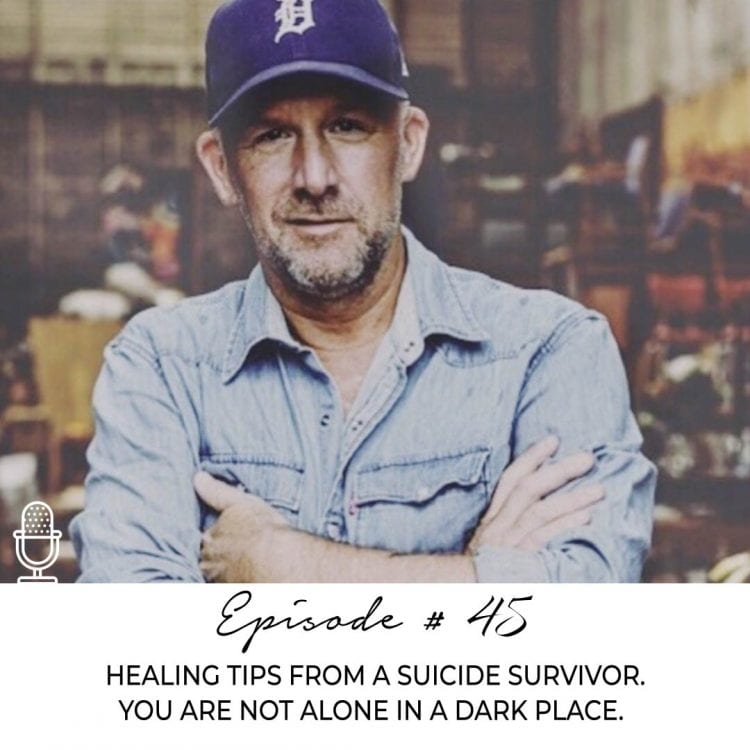 HEALING TIPS FROM A SUICIDE SURVIVOR. YOU ARE NOT ALONE IN A DARK PLACE.
