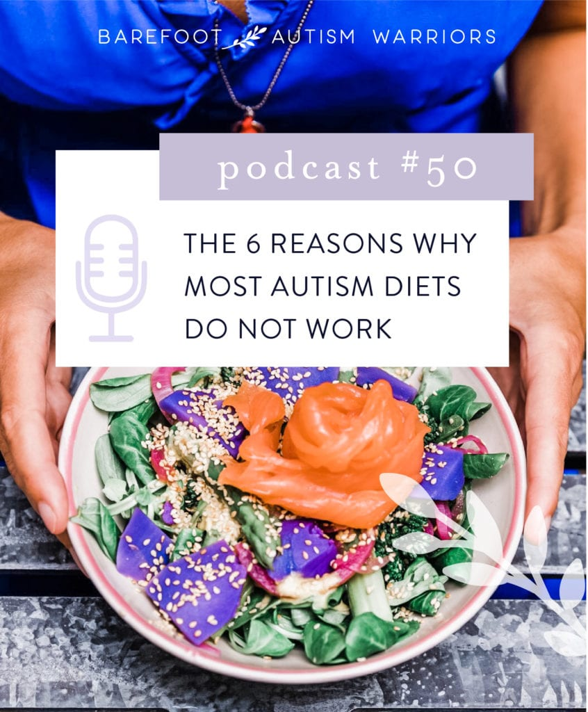 The 6 reasons why most autism diets don't work in the ling run. A podcast from barefoot Autism Warriors.