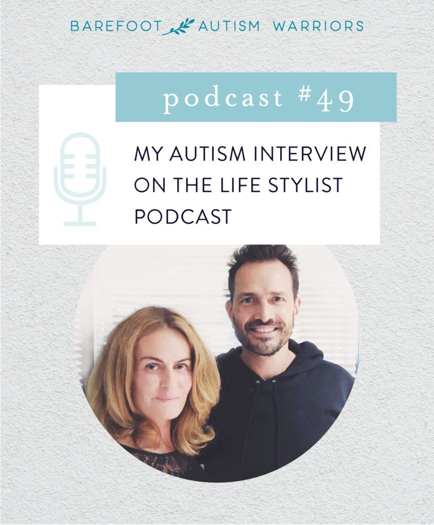 MY AUTISM INTERVIEW ON THE LIFESTYLE PODCAST