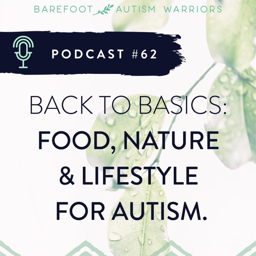 Link for my podcast: The 5 most effective things I did for autism with maximum effect with minimal effort.