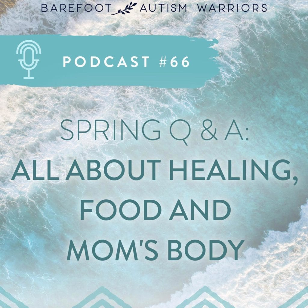 Podcast: All about food, healing and mom's body.