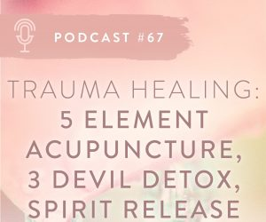 #67: 5 ELEMENTS ACUPUNCTURE AND SPIRIT RELEASE FOR PTSD & TRAUMA
