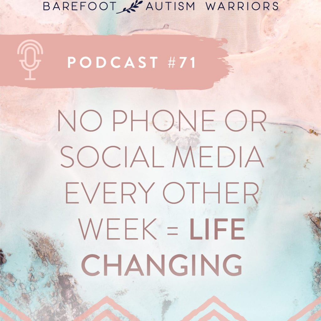 Link for my podcast: Get more time for yourself and reclaim peace and presence with social media fasting.
