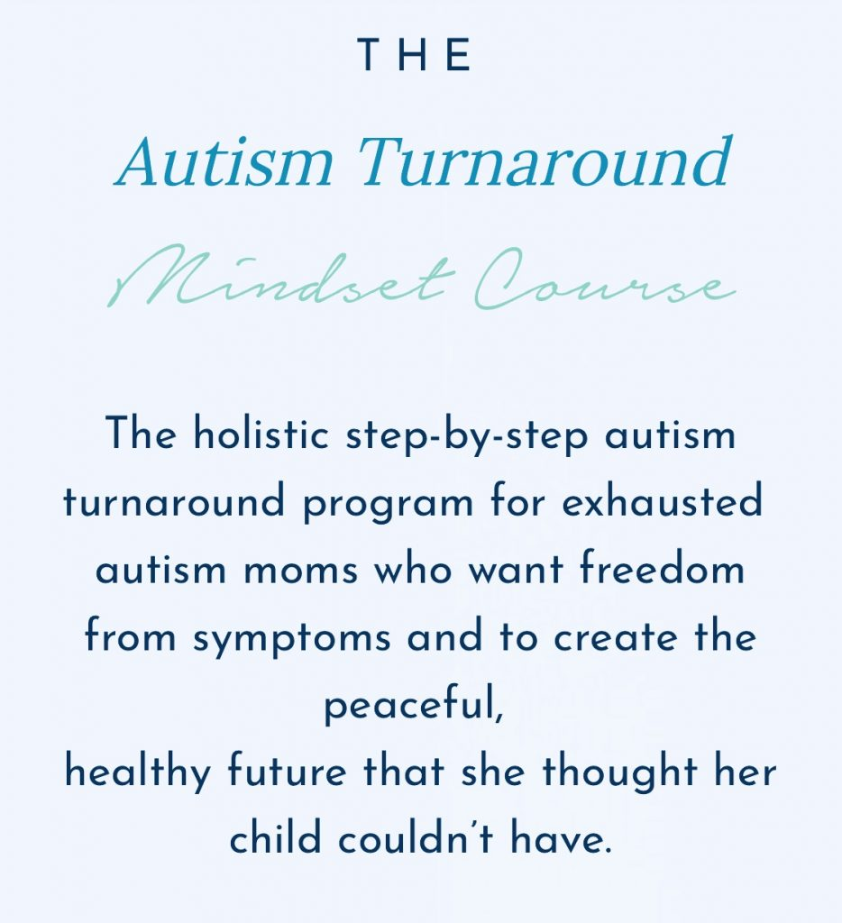 The Autism Turnaround Mindset Course that Stephanie Can Akyol went through to turn her non verbal child around using mindset shifts.