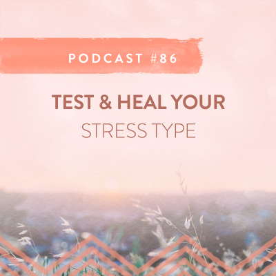 #86: TEST AND HEAL YOUR STRESS TYPE